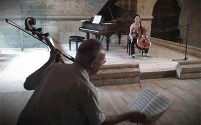 DVD du documentaire «Lluis Claret, Master Class à l'Abbaye»