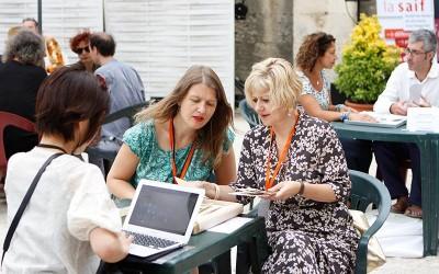 Lectures de Portfolio Voies-Off 2015 à Arles