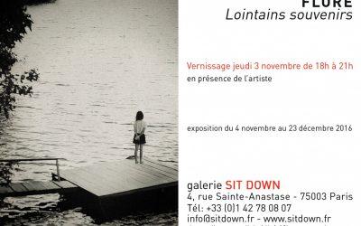 FLORE expose à la Galerie Sit Down – Paris