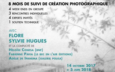 OCTOBRE 2017 – FotoMasterclass avec Sylvie Hugues et FLORE – COMPLET